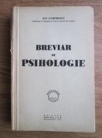 Anticariat: Ion Zamfirescu - Breviar de psihologie (1947)