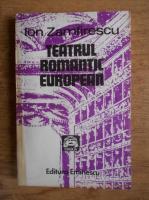 Anticariat: Ion Zamfirescu - Teatrul romantic european