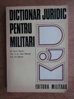Ionel Closca - Dictionar juridic pentru militari