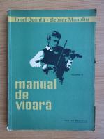 Ionel Geanta - Manual de vioara (volumul 3, 1964)