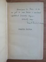 Ionel Teodoreanu - La Medeleni, volumul 1. Hotarul nestatornic (cu autograful autorului, 1945)