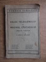 Ionescu Cranguri - Valea Teleajenului si Masivul Ciucasului (1941)