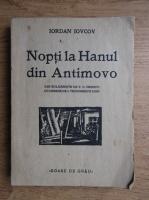 Anticariat: Iordan Iovcov - Nopti la Hanul din Antimovo (1933, cu desene de Ion Teodorescu Sion)