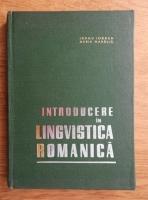 Anticariat: Iorgu Iordan - Introducere in lingvistica romanica