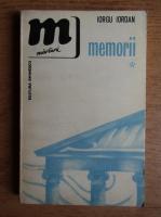 Anticariat: Iorgu Iordan - Memorii (volumul 1)