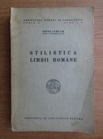 Anticariat: Iorgu Iordan - Stilistica limbii romane (1944)