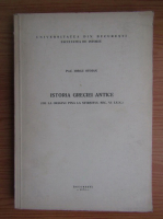 Iorgu Stoian - Istoria greciei antice de la origini pana la sfarsitul secolului VI