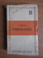 Anticariat: Iosif Brucar - Psihologie (1947)