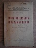 Anticariat: Iosif I. Gabrea - Individualizarea invatamantului
