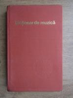 Anticariat: Iosif Sava - Dictionar de muzica