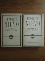 Anticariat: Ippolito Nievo - Memoriile unui italian (2 volume)