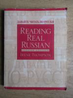 Irene Thompson - Reading real russian