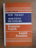 Anticariat: Irina Panovf - New Pocket Romanian dictionary. Romanian-English. English-Romanian