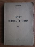 Anticariat: Isaia Feier - Aspecte din filosofia lui Leibniz (1937)