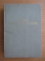 Anticariat: Istoria literaturii romane (volumul 1)