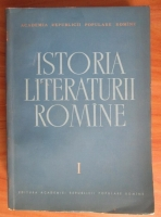 Anticariat: Istoria literaturii romane. Volumul I: Folclorul. Literatura romana in perioada feudala (1400-1780)