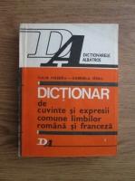Anticariat: Iulia Hasdeu - Dictionar de cuvinte si expresii comune limbilor romana si franceza