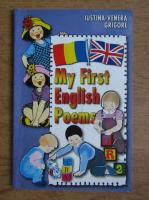 Anticariat: Iustina Grigore - My first english poems
