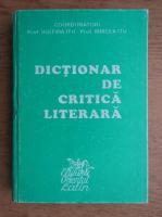 Anticariat: Iustina Itu - Dictionar de critica literara