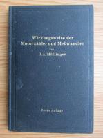 Anticariat: J. A. Mollinger - Wirkungsweise der Motorzahler und Messwandler (1925)