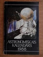 J. Bikse - Astronomiskais kalendars 1988