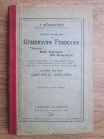 J. Dussouchet - Cours primaire de grammaire francaise (1925)