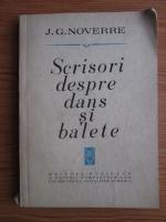 J. G. Noverre - Scrisori despre dans si balete