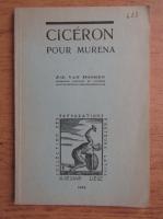 J. J. van Dooren - Ciceron pour murena