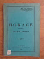 Anticariat: J. J. van Dooren - Horace. Epitres choisies (1936)