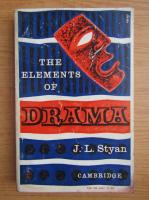J. L. Styan - The elements of drama