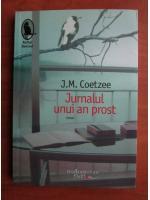 Anticariat: J. M. Coetzee - Jurnalul unui an prost