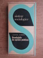 J. Stoetzel - Sinteze sociologice, sondaje de opinie publica