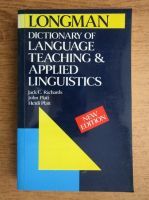 Jack C. Richards - Dictionary of language, teaching and applied linguistics