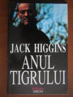 Anticariat: Jack Higgins - Anul tigrului