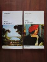 Jacob Burckhardt - Arta si istorie (2 volume)