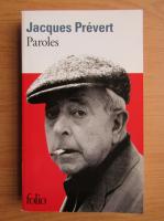 Jacques Prevert - Paroles