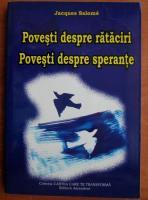 Anticariat: Jacques Salome - Povesti despre rataciri. Povesti despre sperante