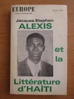 Jacques Stephen Alexis et la litterature d'Haiti