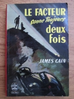 Anticariat: James Cain - Le facteur sonne toujours deus fois