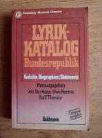 Anticariat: Jan Hans - Lyrik Katalog