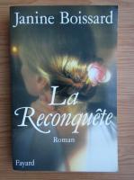Anticariat: Janine Boissard - La reconquete