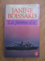 Anticariat: Janine Boissard - Les pommes d'or