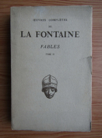 Anticariat: Jean de La Fontaine - Fables choisies mises en vers (volumul 2, 1934)