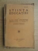 Jean Demoor - Stiinta educatiei (1928)