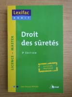 Anticariat: Jean Francois Riffard - Droit des suretes