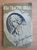 Jean Jacques Rousseau - Contractul social (1930)