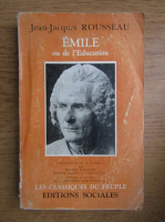 Anticariat: Jean Jacques Rousseau - Emile ou de l'education