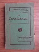 Anticariat: Jean Jacques Rousseau - Les confessions (volumul 3, 1926)
