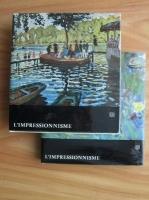 Jean Leymarie - L impressionnisme (colectia Albert Skira, mica, 2 volume)