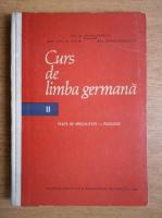Jean Livescu - Curs de limba germana. Texte de specialitate, filologie (volumul 2)